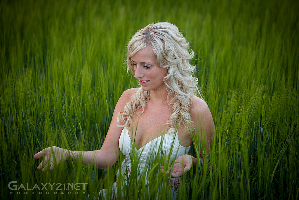 Anna im Feld