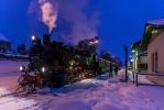 Bahnhof Moritzburg im Winter